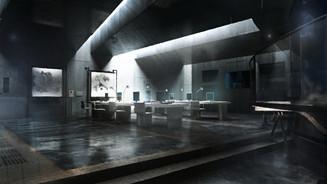 Amarufi: Megami no hôshû, Control room
