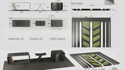 Zoolander 2, Mugatu's Cell, props