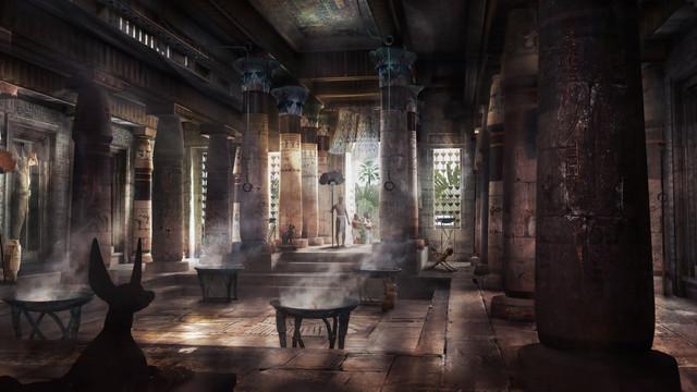 Tut, Pharaoh's Palace
