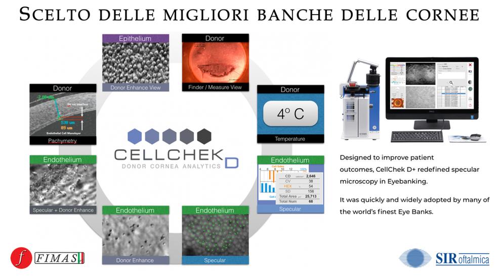 MICROSCOPIO ENDOTELIALE SPECULARE Cellchek D by Konan Medical
