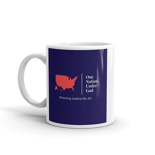 One Nation Under God Coffee Cup