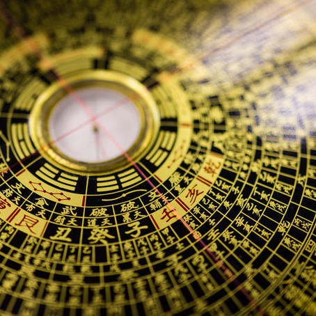 Bagua map & its relation with Feng Shui elements