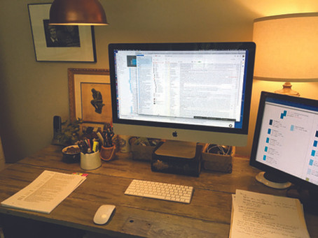Behind the Scenes: RLM's Top 5 Tips for Perfecting Your At-Home Workspace
