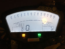 Reprogrammation compteurtablau de bord ducati kilométrage