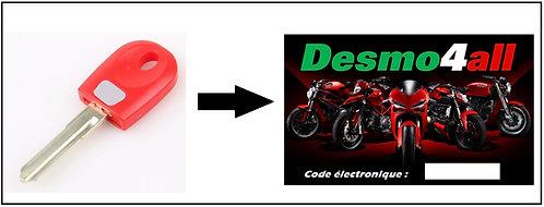 Récupération du code électronique à partir de la clé rouge