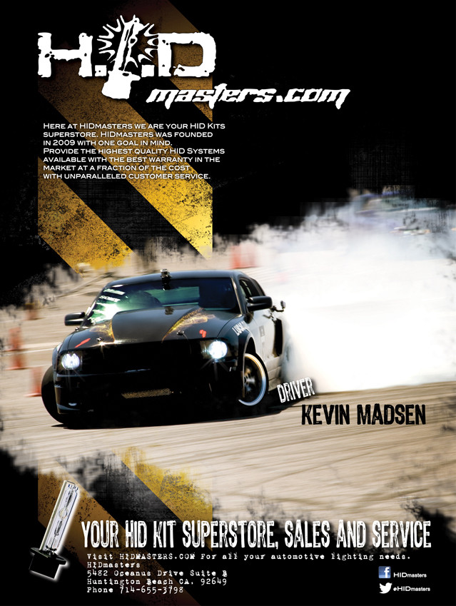 HID MASTERS PROMOTIONAL POSTER