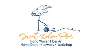 Great Blue Fiber logo