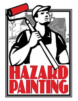 HAZARD PAINTING LOGO