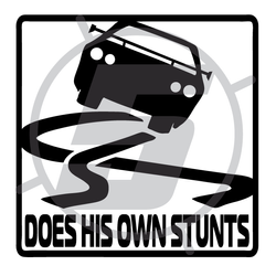 does his own stunts
