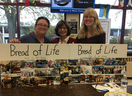 Bread of Life visits White Plains High School