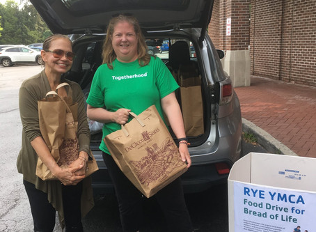 Rye YMCA  July Food Drive