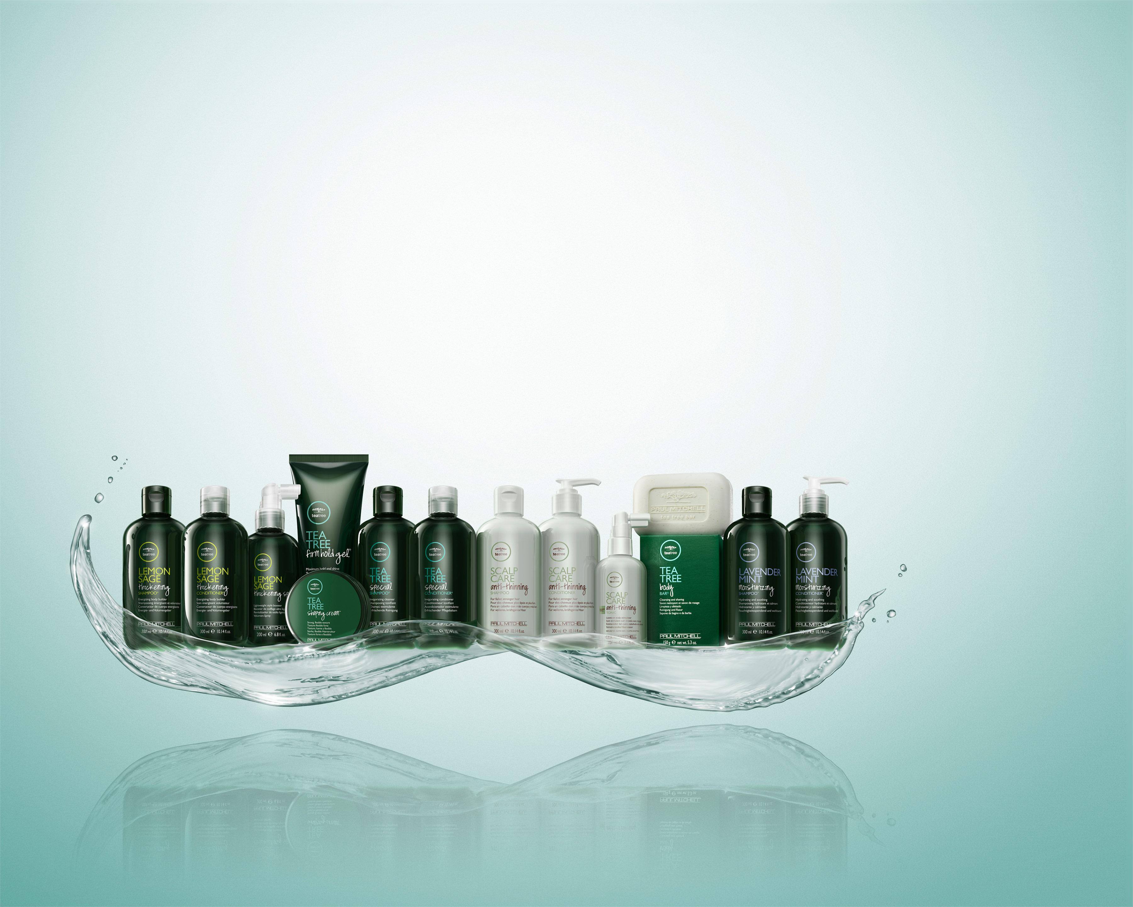 Illusions Salon Tea Tree products