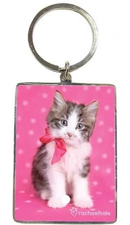 Stunning Cute Kitten Key Ring Ideal For All Cat Lovers By PET TAGS DIRECT Dublin Ireland