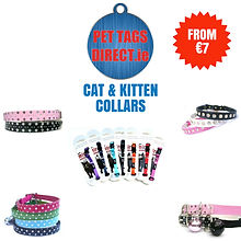 PET TAGS DIRECT  CAT & KITTEN ACCESSORIE