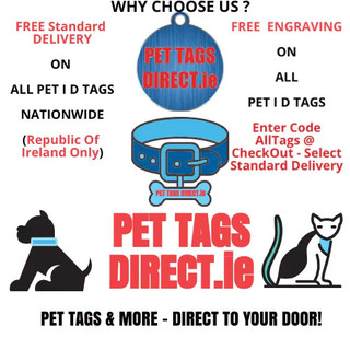 PET TAGS DIRECT Animated Logo
