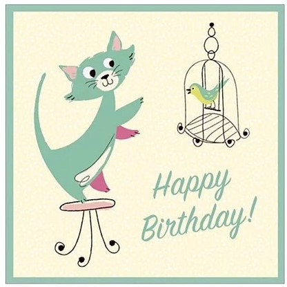 Cat Greeting Cards, Birthday Cards For Cat Lovers, Gifts Galore Direct To Your Door By PET TAGS DIRECT Dublin Ireland,
