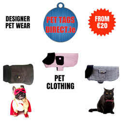 PET TAGS DIRECT PET CLOTHING
