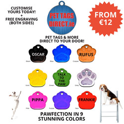 PET TAGS DIRECT PAW TAGS