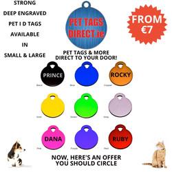 PET TAGS DIRECT CIRCLE TAGS