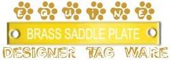 Equine Saddle Designer Tag Ware