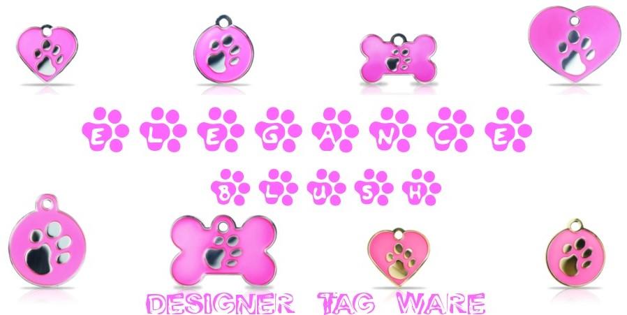 Elegance Blush Designer Tag Ware
