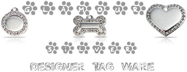 Glamour Silver Designer Tag Ware