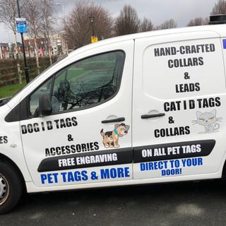 PET TAGS DIRECT Dublin Ireland New Van B