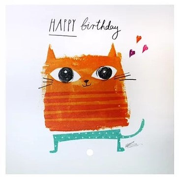 Luxury Greeting Cards For Cat Lovers, Birthday Cards, Gifts Galore Direct To Your Door By PET TAGS DIRECT Dublin Ireland,