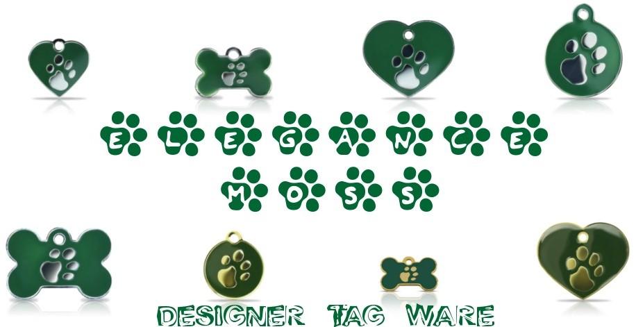 Elegance Moss Designer Tag Ware