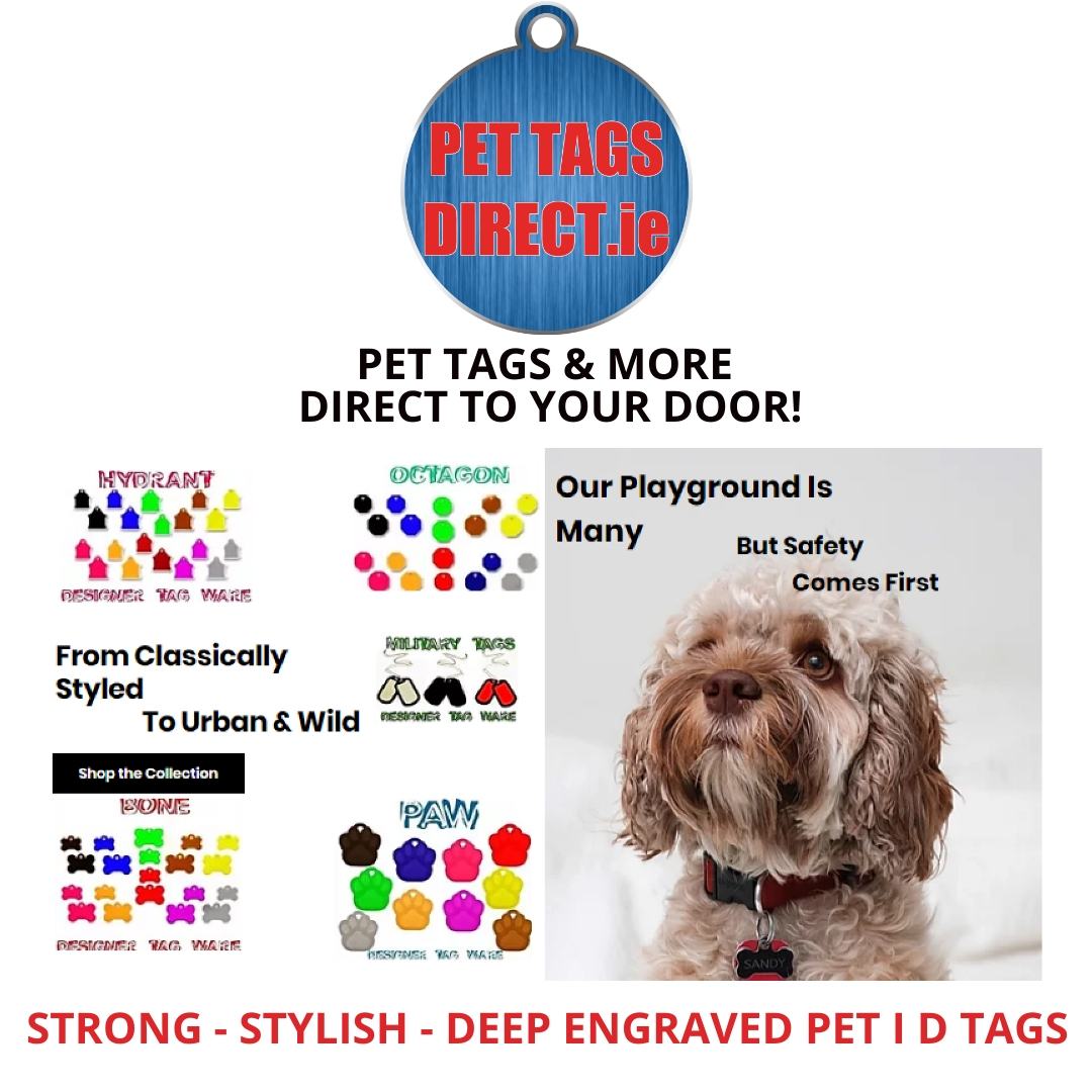 PET TAGS DIRECT DEEP ENGRAVED PET I D TA