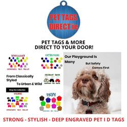PET TAGS DIRECT DEEP ENGRAVED PET I D TA