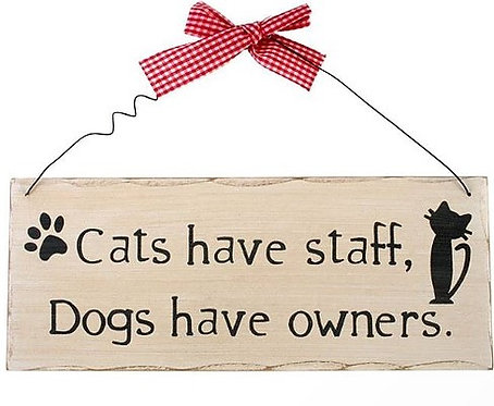 Fun Custom Cat Signs For Cat Lovers The World Over By PET TAGS DIRECT Dublin Ireland,