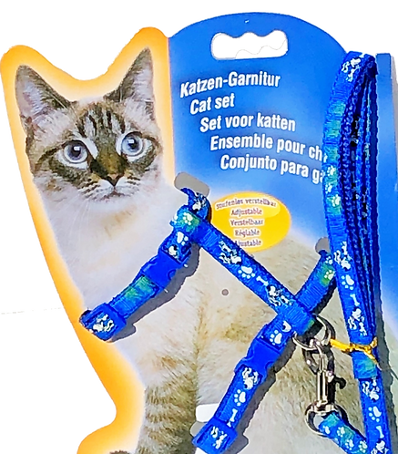PET TAGS DIRECT Dublin Ireland Cat/Kitten Harness With Matching Lead