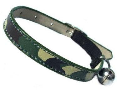 Custom Cat Collars By PET TAGS DIRECT Dublin Ireland Army Camo
