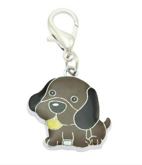 Brown Dog Collar Charms By PET TAGS DIRECT.ie Dublin Ireland