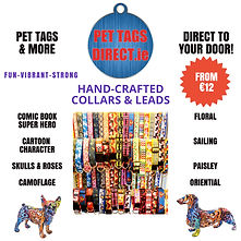 PET TAGS DIRECT HANDCRAFTED COLLARS AND