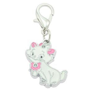 White Cat Collar Charms By PET TAGS DIRECT.ie Dublin Ireland