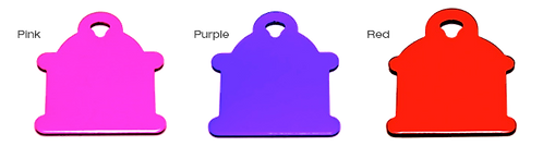 Hydrant Tags By PET TAGS DIRECT.ie Dublin Ireland Available 2 Sizes & 9 Colours Including Purple