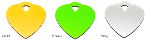 PET TAGS DIRECT.ie Large Selection Of Tags Available in Green + 8 Other Colors and Small or Lagre Size