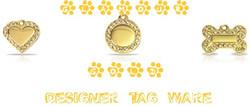 Glamour Gold Designer Tag Ware