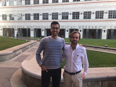 AbmR Scholarship Series: Humza Khan in the Butte Lab, UCLA