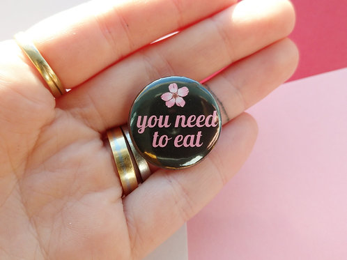 You need to eat badge