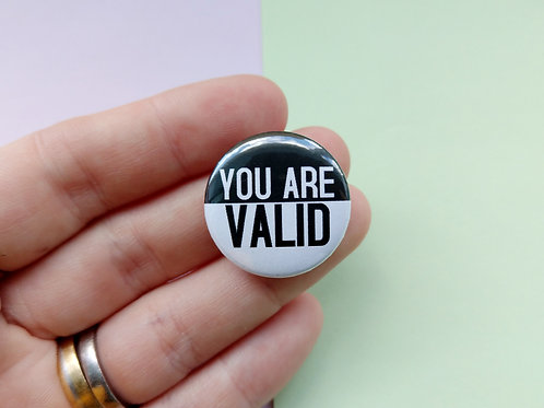 You are valid badge