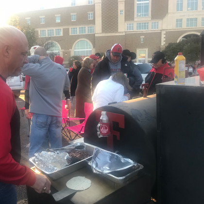 Tailgating at the game