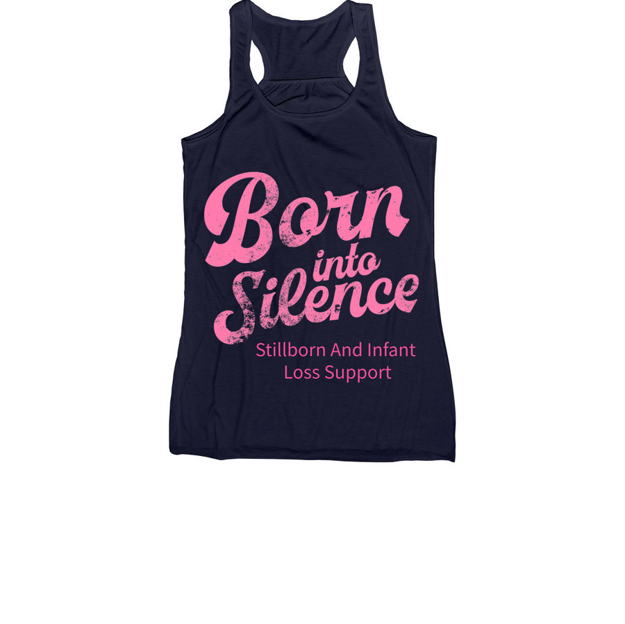 Pink Born Into Silence Tank - Women's