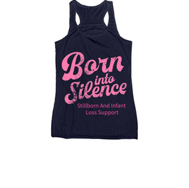 Pink Born Into Silence Tank - Women's