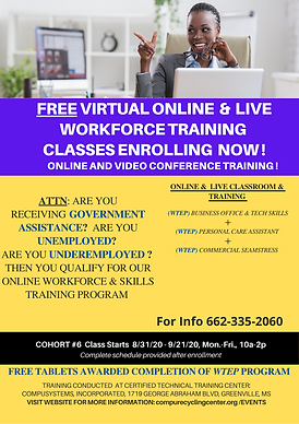 FREE TANF TRAINING-WITH FREE COMPUTER TA