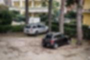 hotel-2-stelle-bellini-riccione-parcheggio-interno privato