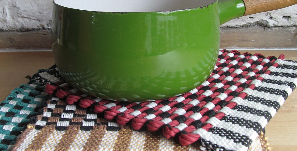 Handwoven Kitchen Mats