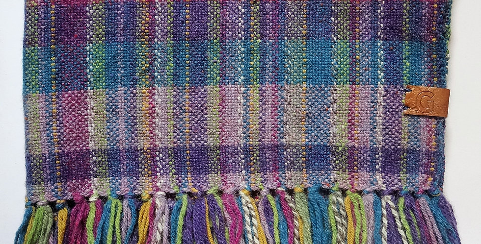 Handwoven 100% Wool Blanket